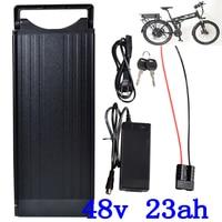 48V Electric Bicycle 48V 20AH Lithium battery 48V 24Ah 23Ah 20Ah Rear Rack eBike Battery for 48V 2000W 1500W 1000W 750W Motor