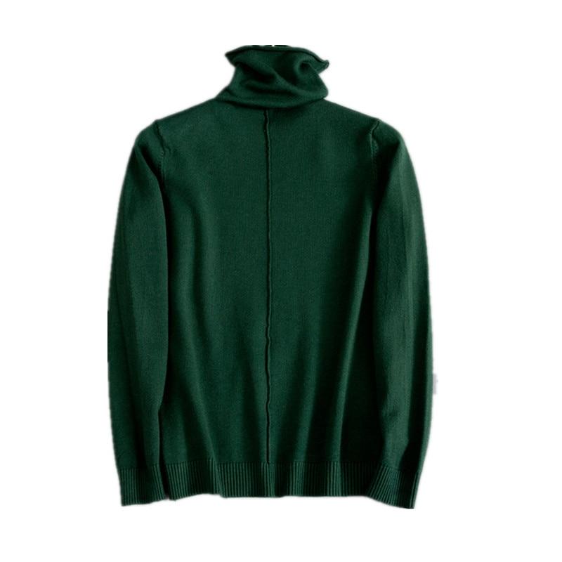 Женские Пуловеры на осень-зиму 2019, свитер, вязаный эластичный Повседневный джемпер, модная Облегающая водолазка, теплые женские свитера D332