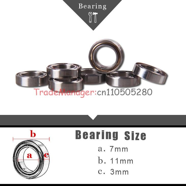 2015 envío rápido 10 Uds LM8UU cojinete de rodamiento lineal de 8mm cojinete 7*11*3mm piezas de repuesto Accesorios
