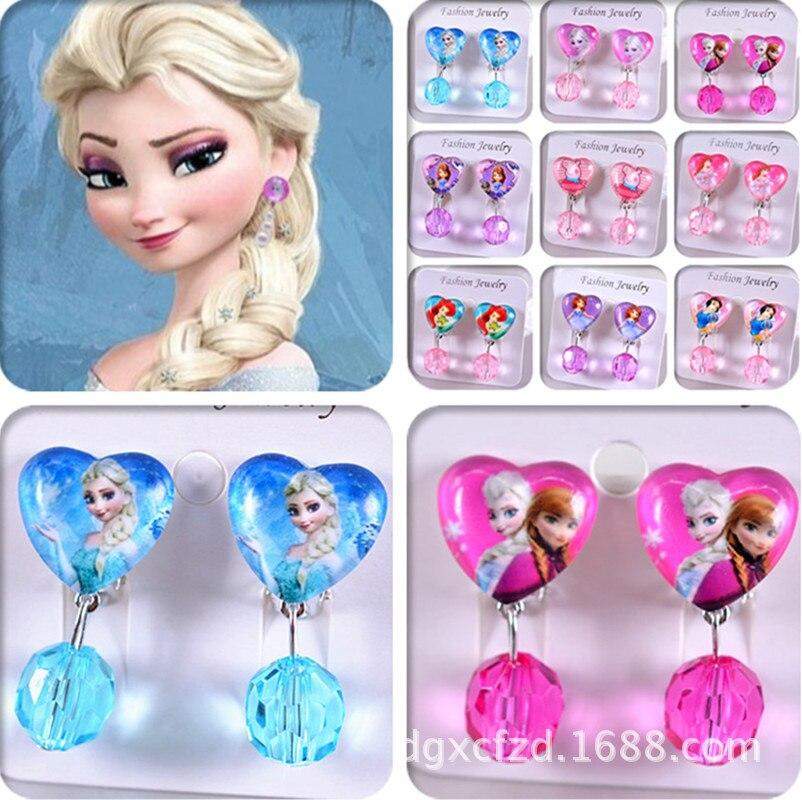 Модный детский головной убор Hello Kitty, серьги на клипсе, аксессуары для волос, жемчужная головная одежда, подарки для милого ребенка