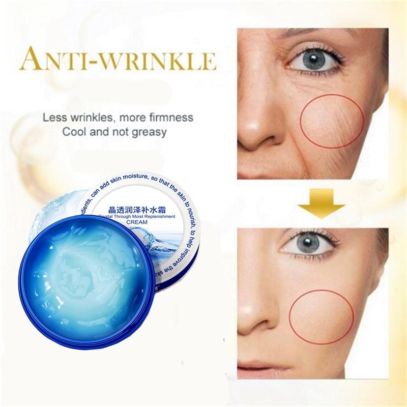 Hyaluronic Acid Organic Moisturizer Face Cream Anti-aging Face Eye Area Vitamin E And Green Tea Face Whitening Cream Oil Control
