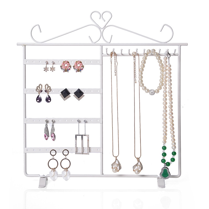 big stand up 2019 02 16t21 00 Big Earrings Necklace Jewelry Stand Holder Display Rack Simple Style Ear Studs Metal Stand Holder Display Shelf Jewelry