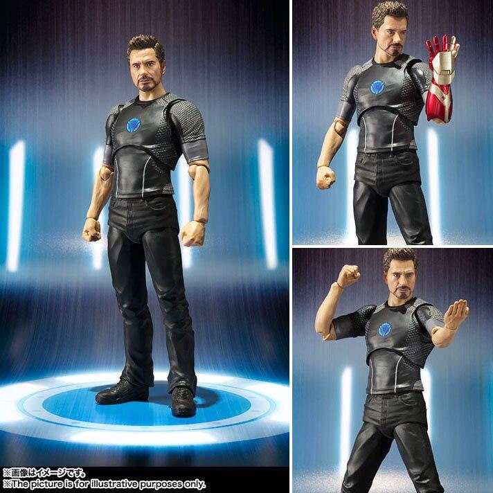 Новинка, лидер продаж, 15 см, Железный человек, Мстители, Тони Старк, Человек-паук: фигурки для встречи на родину, игрушки, Человек-паук, рождественский подарок, кукла с коробкой