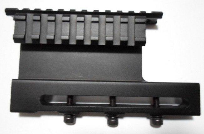 AK47 carril Weaver montaje lado espejo puente multi-tipo de pista