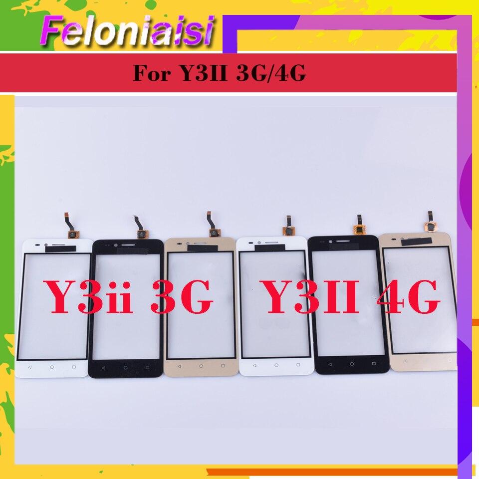 Para Huawei Y3ii Y3 II 2 LUA-U23 LUA-L03 LUA-U22 LUA-L23 pantalla táctil Panel táctil digitalizador cristal frontal táctil