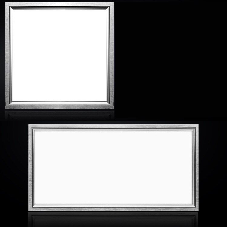 LED integrado incrustado luz del panel 600x600 36 w 300x300 12 W 300x600 24 W LED untraplate techo interior Iluminación ac85-265v