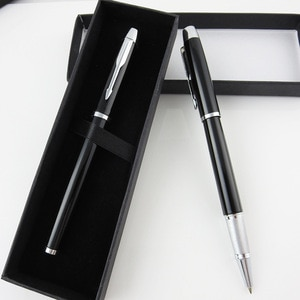 QSHOIC Metal metal ballpoint pen business gift pen for man office stationery gift pen set high quality thanksgiving day gift