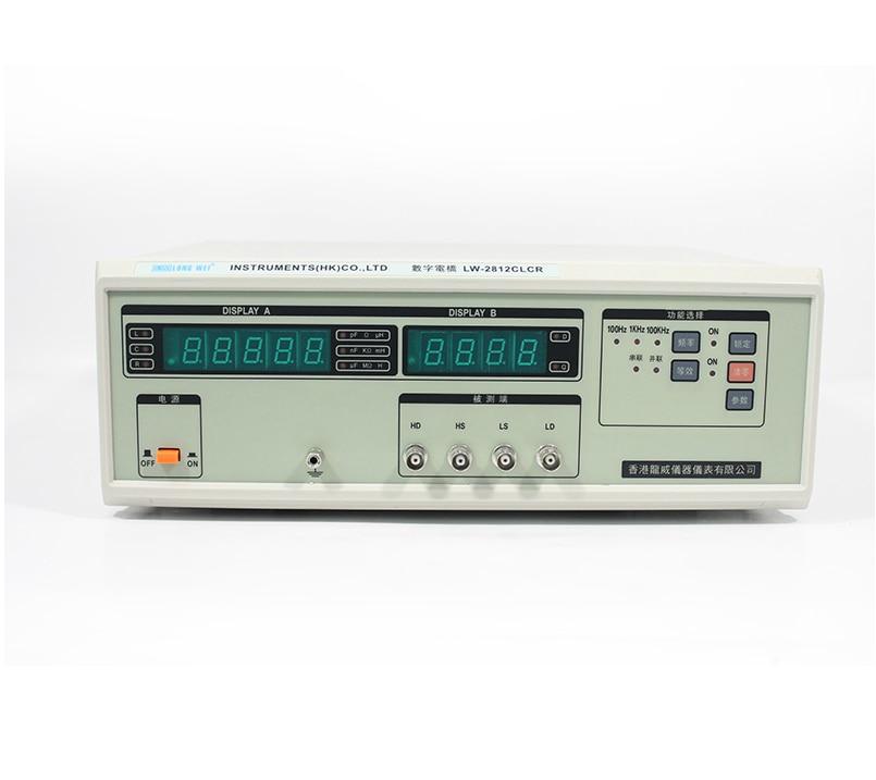Larga Wei LW-2812C LCR Puente digital 100HZ.1KHZ.100KHZ
