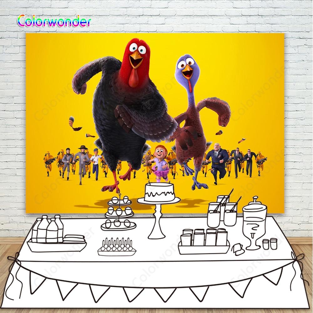Vinilo amarillo pared pájaros fotografía fondo recién nacido Photoshoot Props niños cumpleaños fiesta Foto fondo