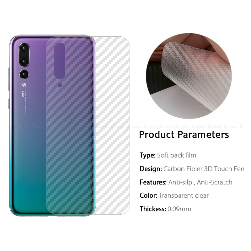 Película protectora de fibra de carbono 2 piezas/3D para Xiaomi Red mi Note 7S Red mi 7A mi 9 SE mi 8 lite mi x 3 5G rojo mi a mi 8Pro