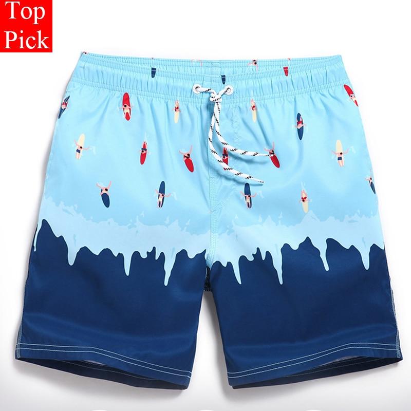 Nuevo traje de baño de talla grande para hombre, pantalones cortos para hombre, para la playa, fitness, correr, bermudas, corredor, estampado, bañadores de baño para hombre