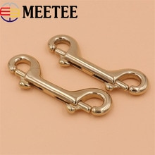 Solid Brass Metal Buckles Bag Dog Collar Webbing Clip Buckle Clasps Lobster Keychain Belt Snap Hooks DIY Leather Craft