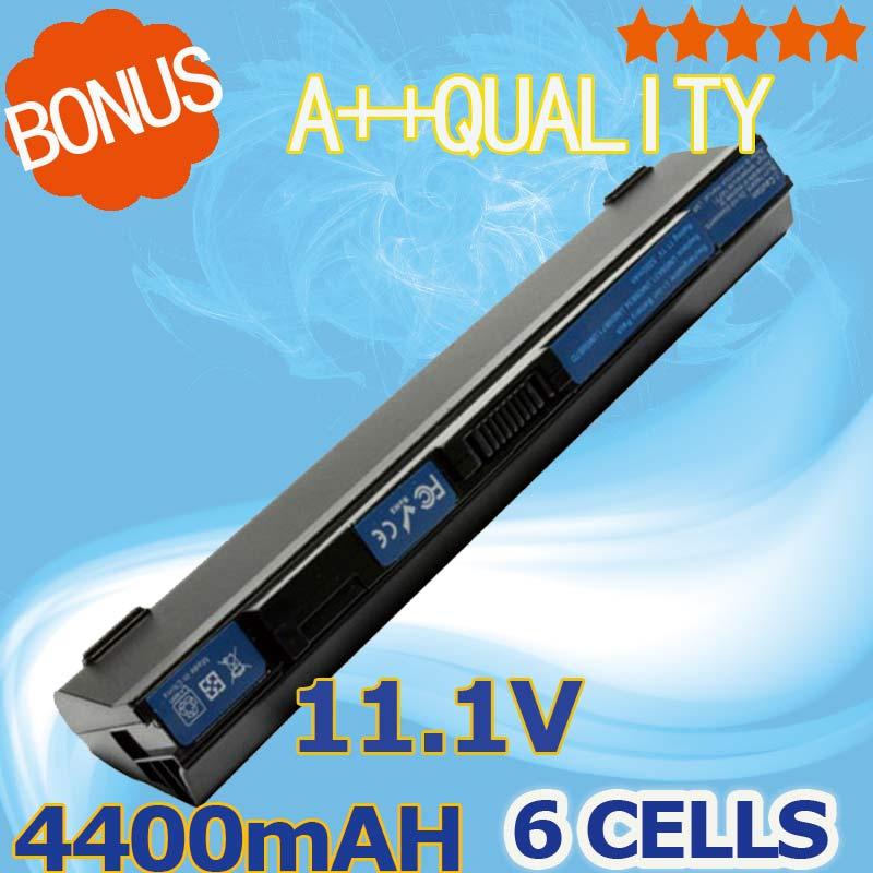 Batería de 4400mAh para AcerUM09B7C M09B7D UM09B73 Aspire uno 751h-1153 AO751h-1192 531h-0Br...