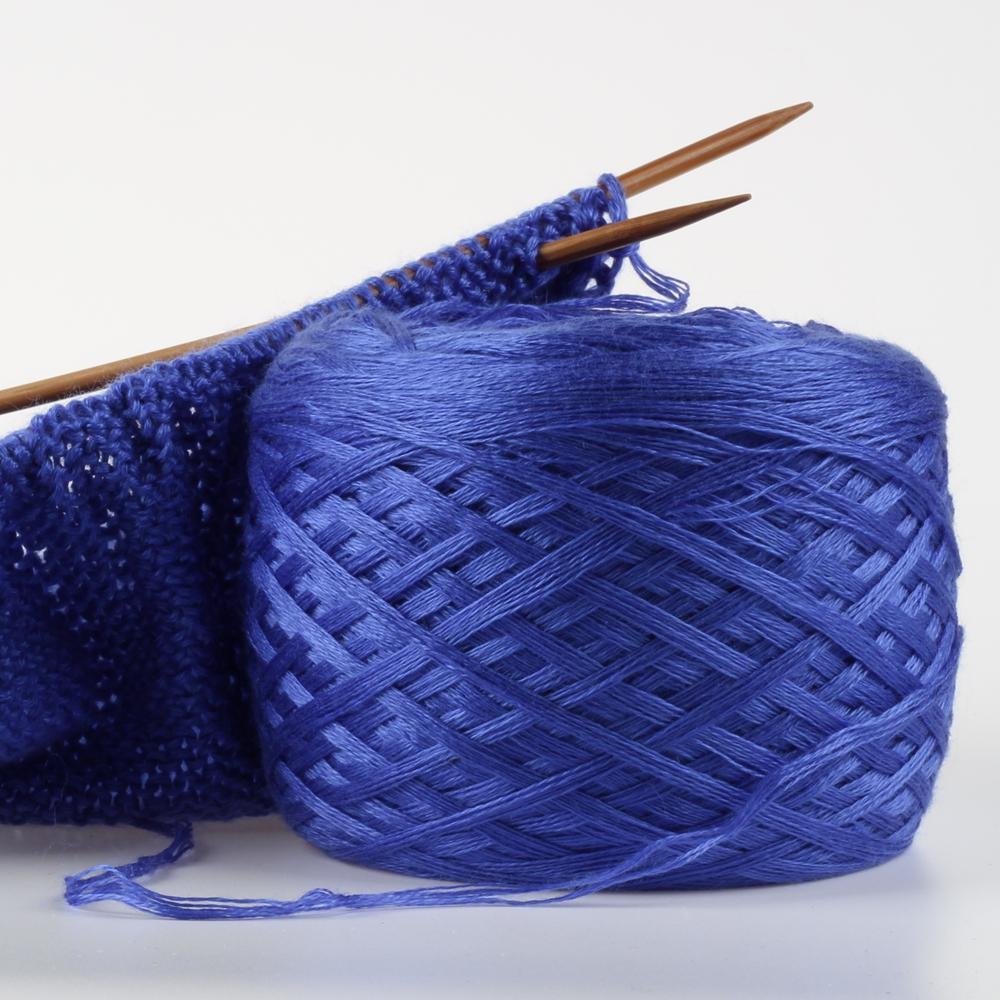 Mercerización multihilo hecho de hilo de algodón puro para tejer a mano bufanda gorro y Jersey de hilo 400 g/lote
