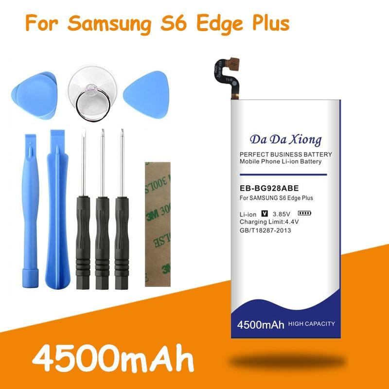 4500mAh EB-BG928ABE batería para Samsung GALAXY S6 edge Plus G928T G928V G928S G9280 G928F G928P G9287 G928A G928P borde + batería
