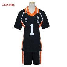 Anime Haikyuu Cosplay Hinata Jersey Karasuno lycée volley-ball Club Oikawa Kenma Nishinoya Kuroo Karasuno Cosplay Costumes