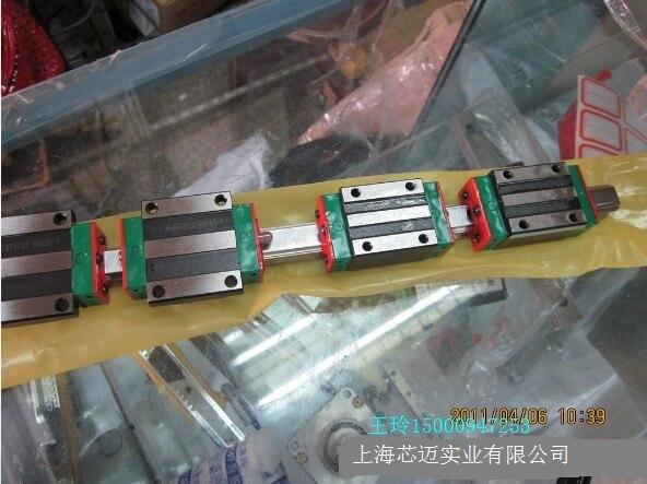 Cnc 100% hiwin HGR55-100MM السكة خطي دليل من تايوان