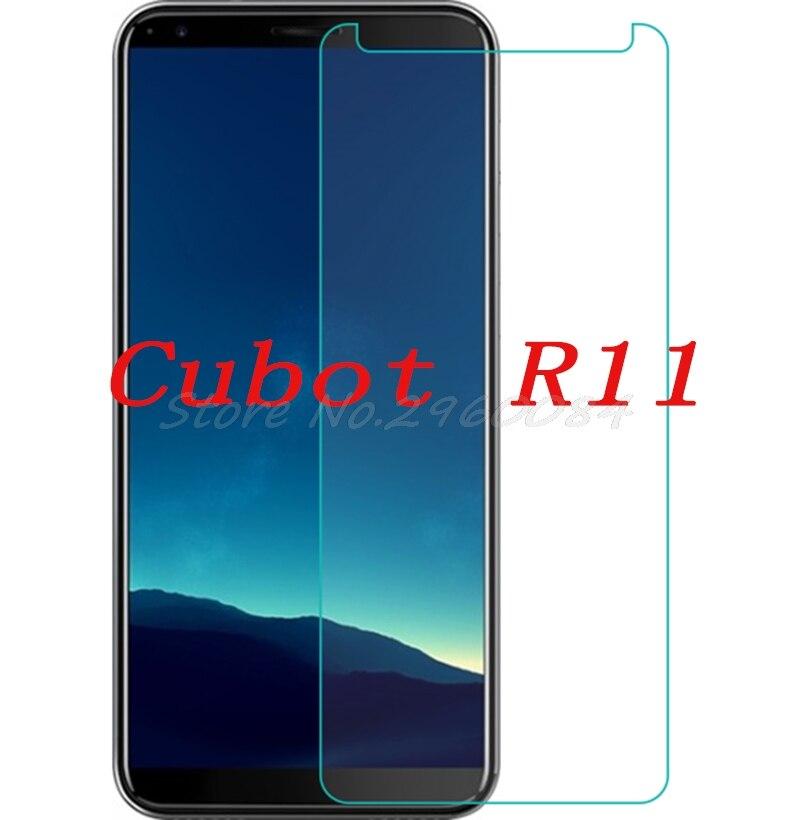 Vidrio templado para teléfono inteligente para Cubot R11 9H película protectora funda protectora de pantalla teléfono