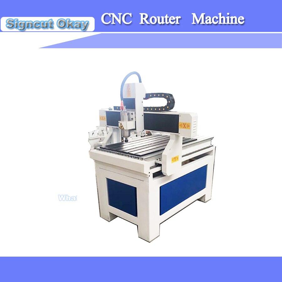 Suministro de China 1,5/2.2KW máquina de enrutador CNC máquina de carpintería 6090 husillo de refrigeración de agua compatible con sistema de control DSP