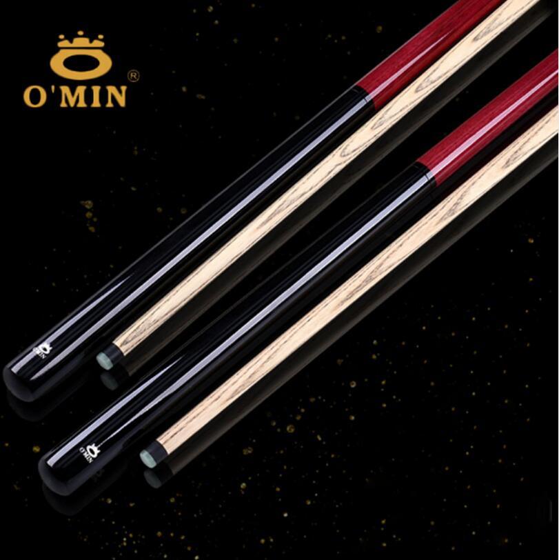 New Arrival Omin Brand Break Punch Jump Cue Billiard Stick Kit Ash Wood Shaft Professional Handmade Durable China 2019