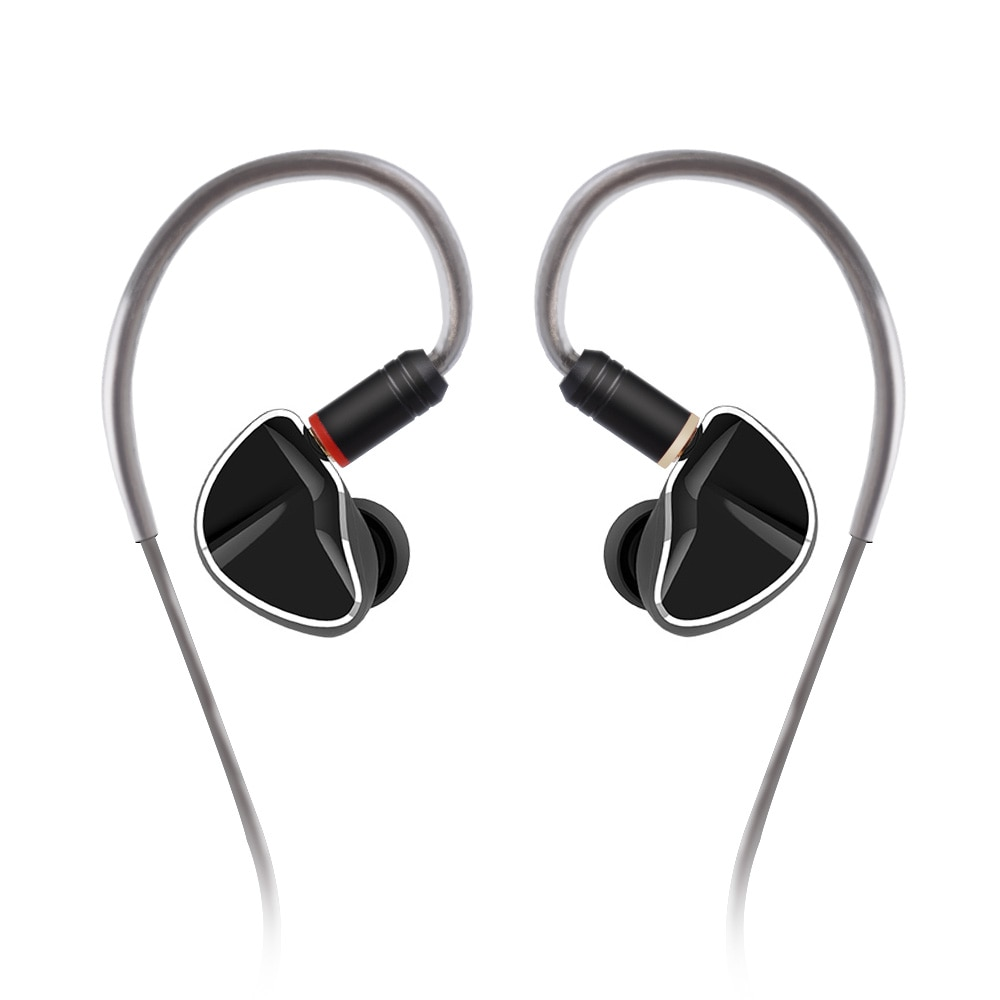 Yinyoo D2B4 2DD + 4BA 10mm, auriculares internos con diafragma dinámico de grafeno, auriculares HIFI con Monitor DJ y Cable actualizado