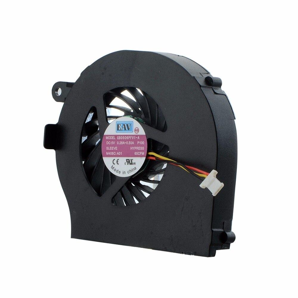 Вентилятор охлаждения процессора для HP G72 Compaq CQ72, сменный вентилятор охлаждения для ноутбуков серии KSB0505HA-A F0683