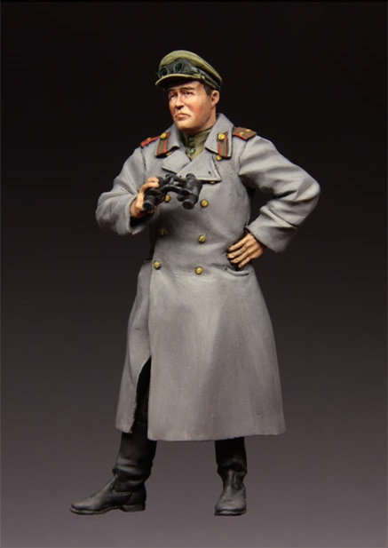1/35 figuras de resina Kits de modelo WW2 Oficiales soviéticos-410 sin montar, sin pintar