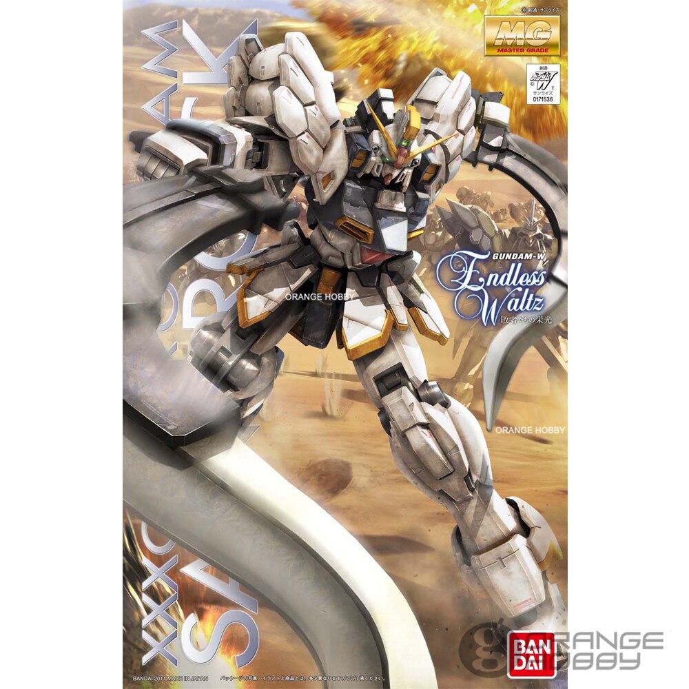 Bandai MG 1/100 XXXG-01SR Gundam Sandrock Ver! EW traje móvil Gundam asamblea modelo Kits