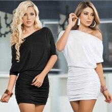 Vestido corto de talla grande para mujer, vestido informal de verano a la moda con 2 estilos, cuello con ojal, sólido y talle alto S-XL