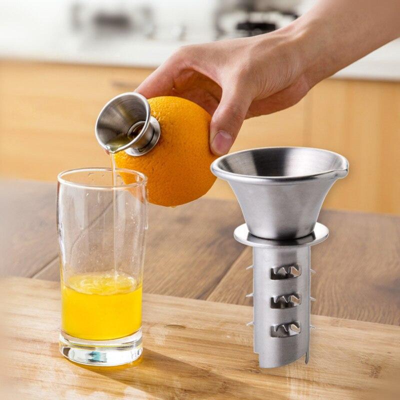 Mini 304 stainless steel press juicer thick manual Citrus Orange Lemon Squeezers Household Fruit Tool kitchen appliances