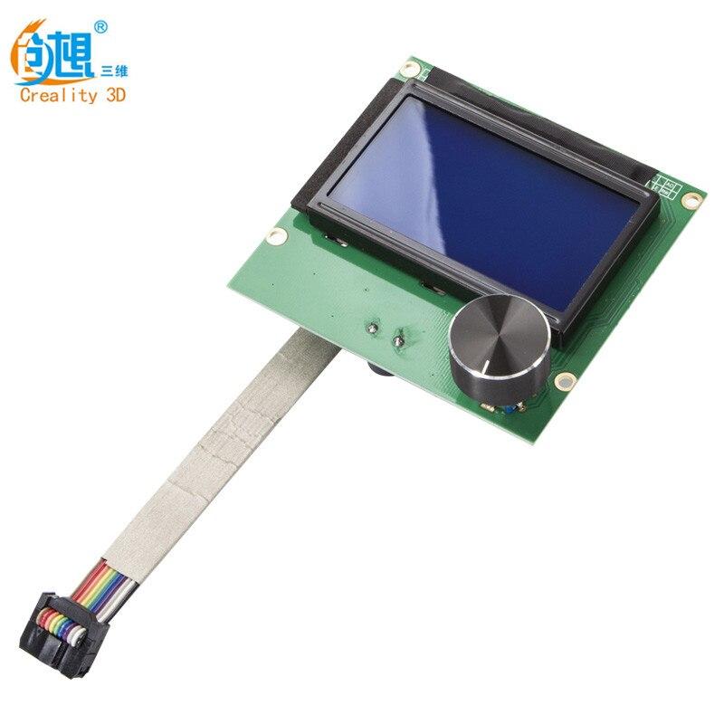 Новейший Ender-3 3D принтер экран экрана 1,4 LCD 12864 RAMPS экран + кабель для CREALITY Ender-3 3D принтер