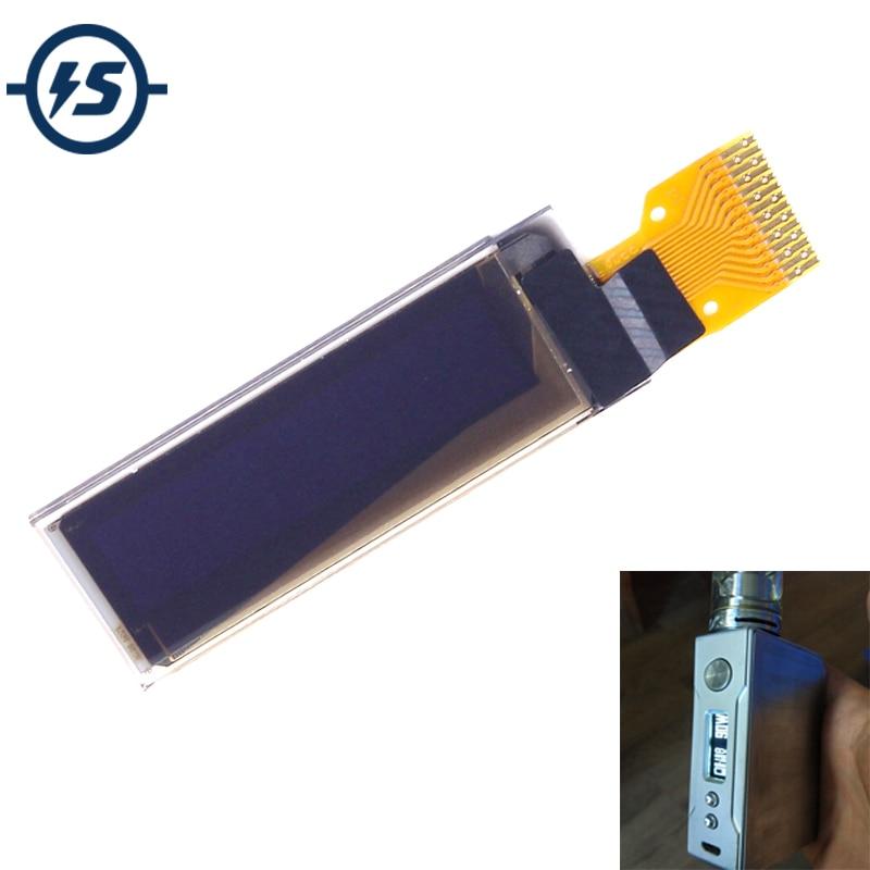 "Display Board 0.91"" OLED Display Module OLED Screen Board 128x32 SSD1306 Module White"