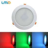 LMID 18W 24W RGB LED Downlight DC24V Recessed LED Spot Light Ceiling Lamp Light For Indoor Lighting White Body