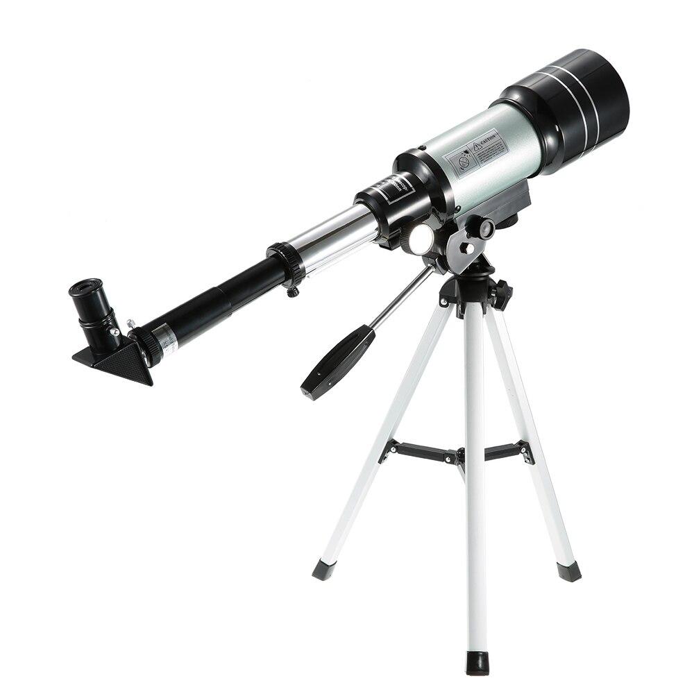 Telescopio astronómico profesional al aire libre HD Monocular 150X Refractive Space telescopio de viaje con palanca de trípode portátil