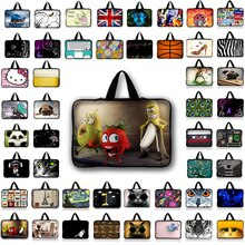 Universal 7 10 12 13 14 15 17.3 Portable Laptop Bag Carry Cases Sleeve Netbook Cover 15.4 15.6 For M