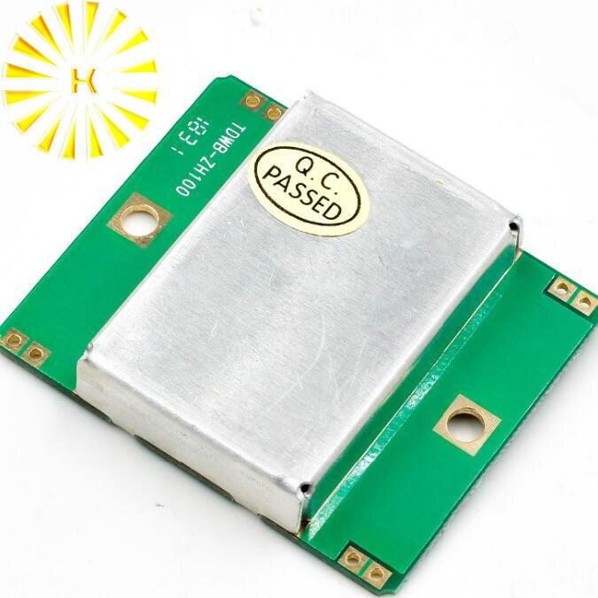 Microondas Doppler Radar módulo inalámbrico Sensor de movimiento HB100, Sensor de movimiento de microondas, Conector de Detector de movimiento