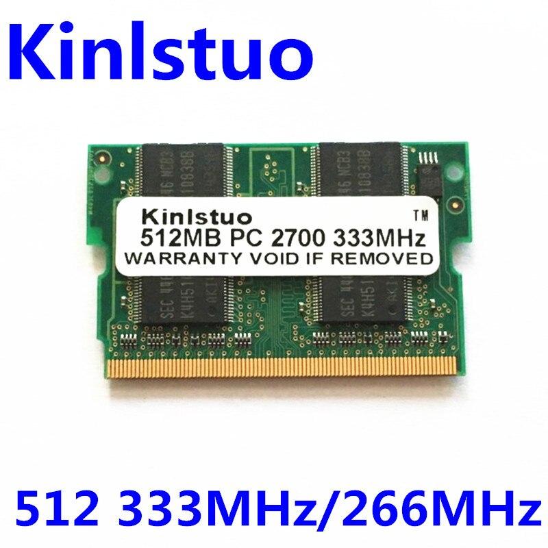 NUOVO 512 MB PC2700 DDR333 MicroDIMM Memoria micro dimm DDR-333 172pin 172-pin Laptop ram