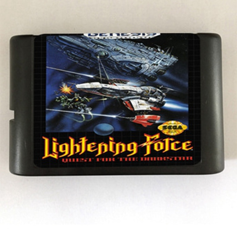 Lightening Force Game Cartridge Newest 16 bit Game Card For Sega Mega Drive / Genesis System