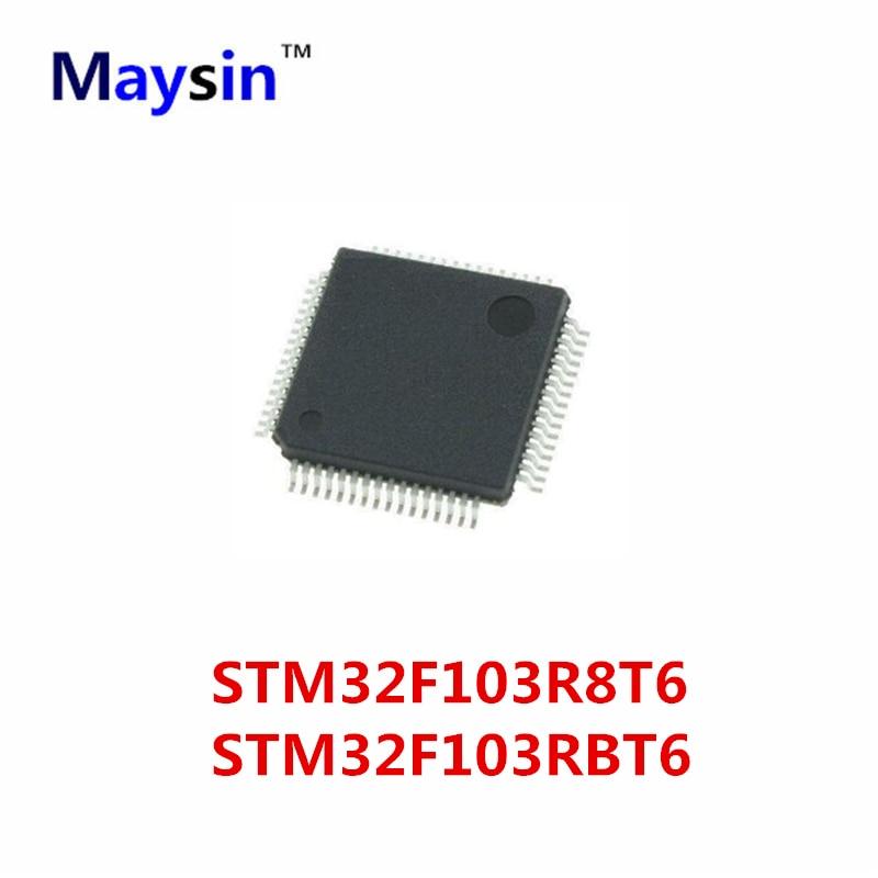 10 piezas STM32F103R8T6 STM32F103R8 32F103R8 STM32F103 STM32F103RBT6 STM32F103RB 32F103RB QFP64 ORIGINAL