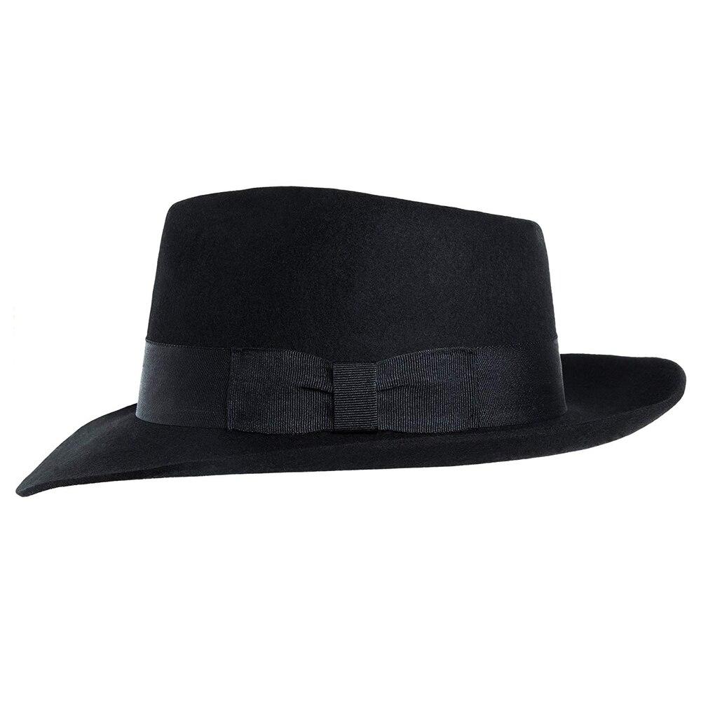 MJB2C-Michael Jackson sombrero sombreros-Negro