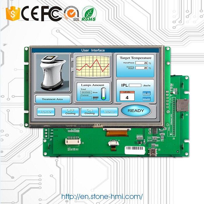 10.1 Inch TFT LCD Module Controller Screen Display Monitor With MCU/CPU/Memory/Drive IC