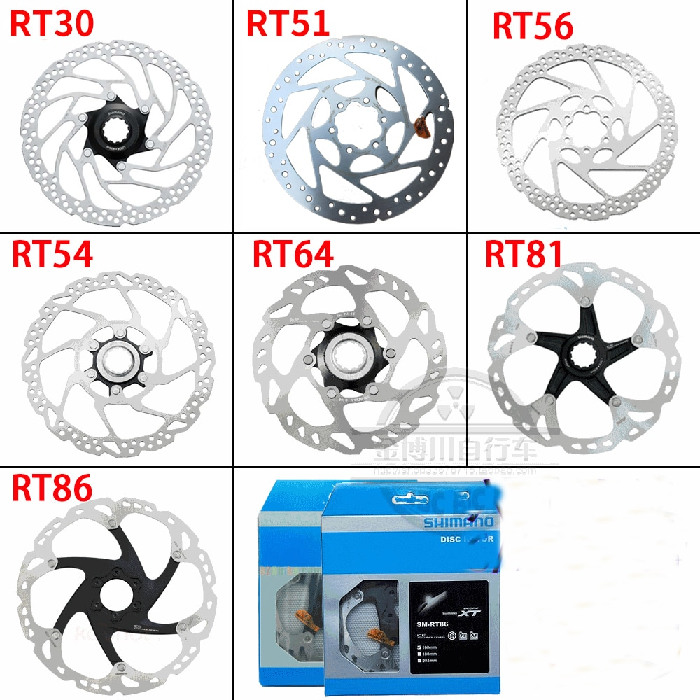 Frein à disque RT30 51 54 56 70 68 81 86 99 900 taille 160/180/203mm ICE-TECHNOLOGIES verrouillage central Rotor à disque 6 boulons