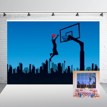 Basket-ball parti toile de fond sport basket-ball thème photographie toile de fond sport Club photographie arrière-plan accessoires Studio W-1862