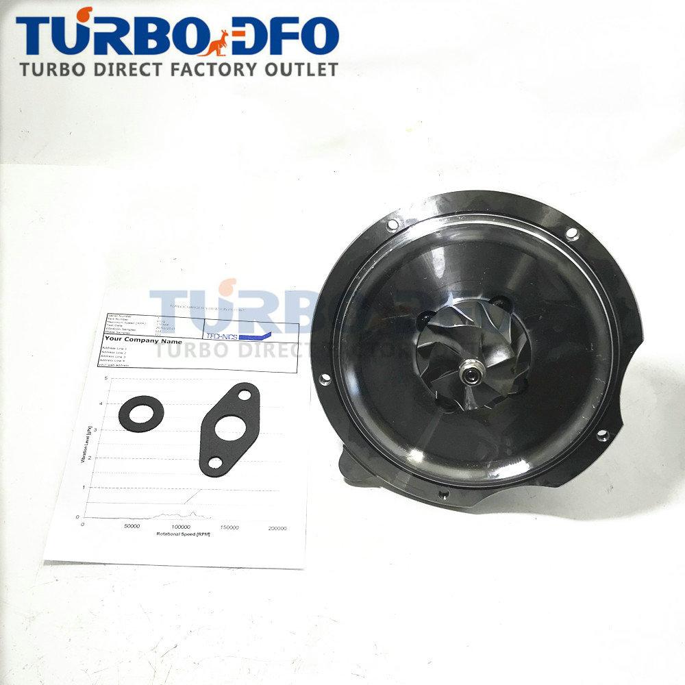 RHF4H RHF5 Turbo CHRA Equilibrada VD420028 VE420028 cartucho de turbina para ISUZU MPR NPR Trooper 4JB1TC 2.8L D reconstruir 8971923312