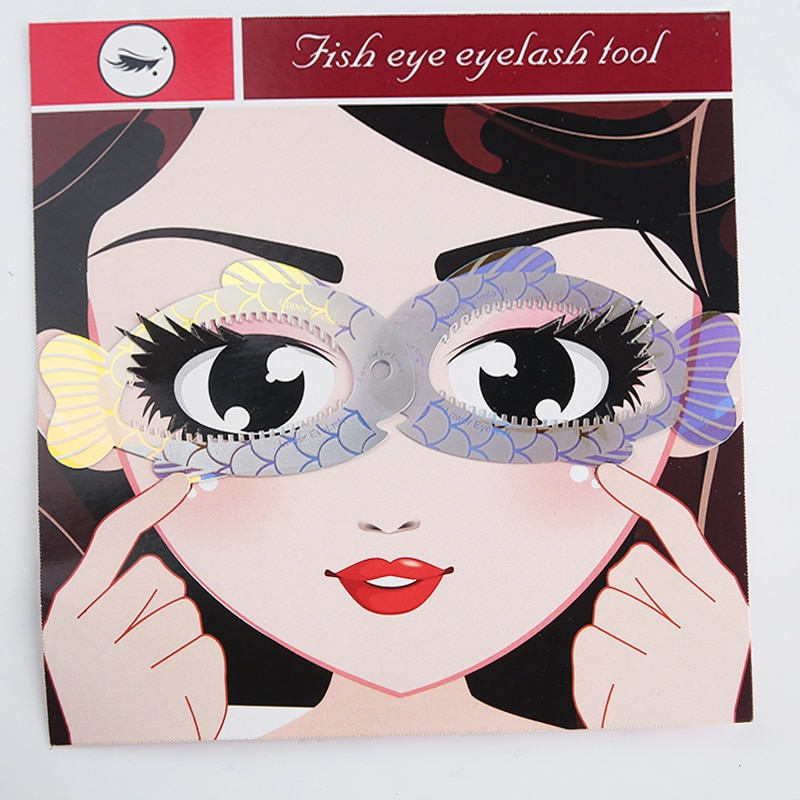 New Fish Eye Makeup Beauty Eyeliner mold Stencils Women Cat Line Pro Eye Makeup Tool Eyeliner Stencils Template Shaper Model