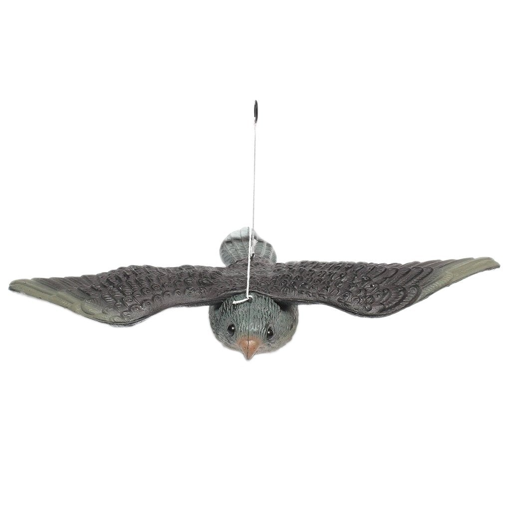 Outdoor Jagd Schießen Lockvögel Realistische Fliegen Vogel Hawk Pigeon Lockvogel Schädlingsbekämpfung Garten Fallen Erschrecken crow Ornament