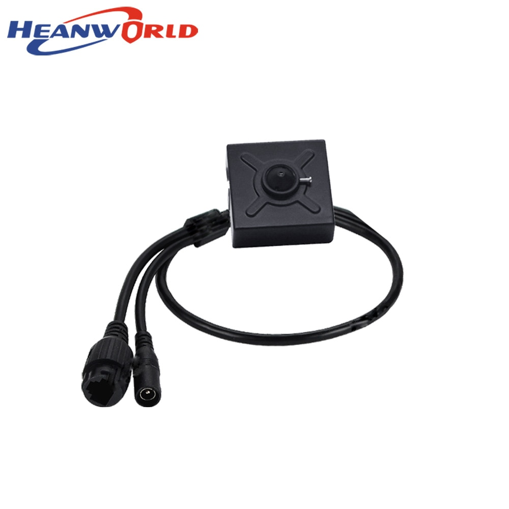 Heanworld Mini cámara IP 2MP Full HD 1080P de cámara de seguridad cctv ONVIF 3,7mm mini cámara ip Android iPhone vmeyesuper de APP