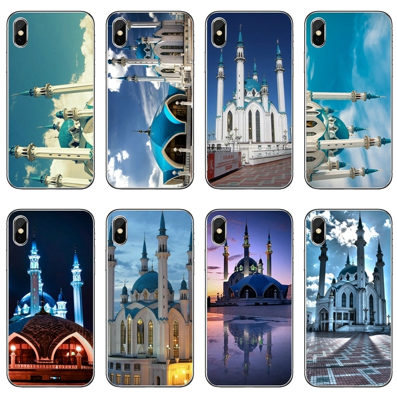 Funda de teléfono suave Iglesia Qolsharif mezquita Kazan Rusia para Huawei P20 P10 P9 P8 pro Lite plus pro P Smart mini GR5 nova 2i