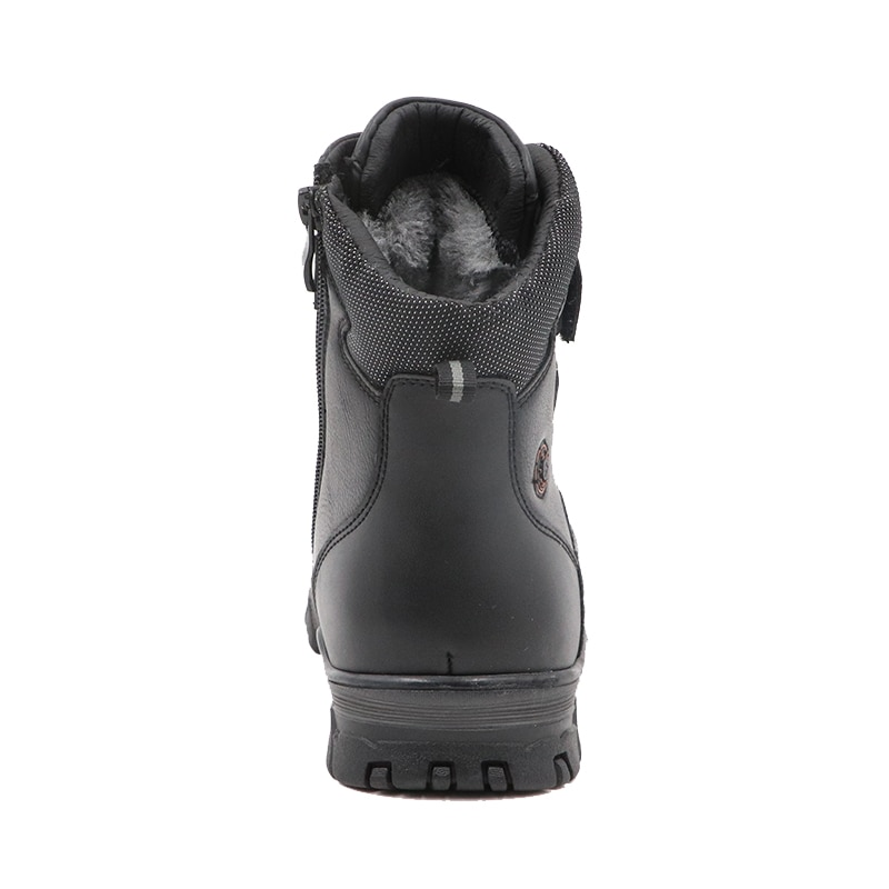Winter Waterproof Boys Felt Boots Pu Leather Mid-Calf Children's Shoes Warm Plush Rubber Winter Snow Boots for Boys EU 36-41 enlarge