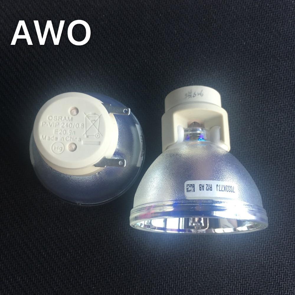 5J.J7L05.001 proyector Original lámpara desnuda OSRAM P-VIP 240/0,8 E20.9N bombilla para Benq W1080 W1070 W1070 + W1080ST, etc 1 Uds